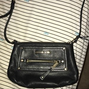 Michael Kors black crossbody purse